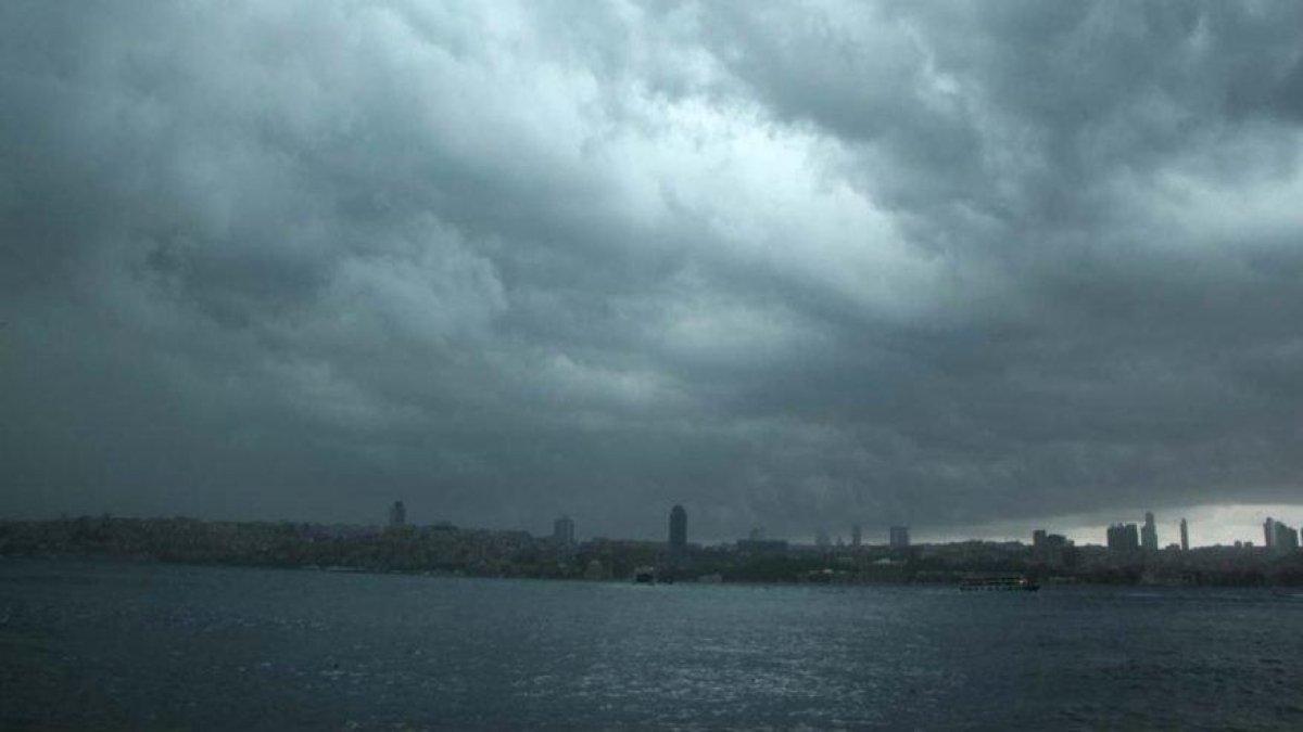 İstanbullular yarına dikkat! Meteoroloji'den uyarı