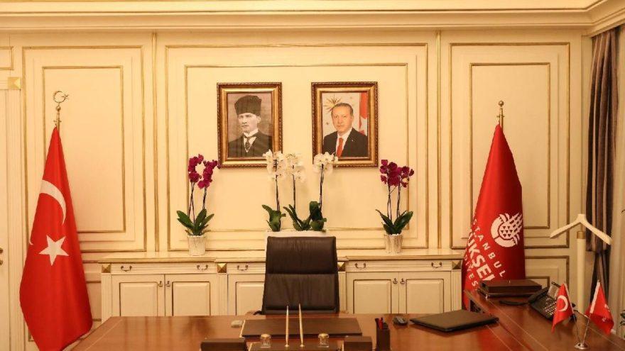 İmamoğlu'nun astığı Atatürk tablosunu kaldıran İBB'den açıklama