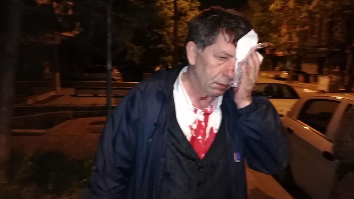 Gazeteci Yavuz Selim Demirağ'a evinin önünde saldırı