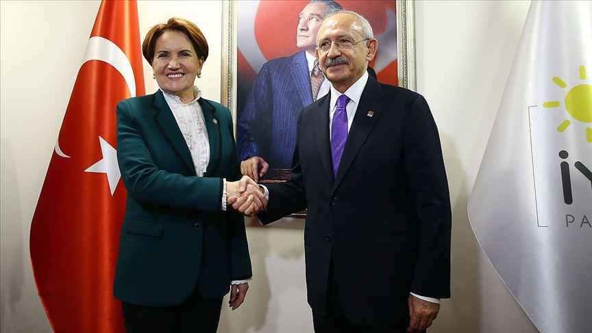 Kemal Kılıçdaroğlu ile Meral Akşener bugün bir araya gelecek