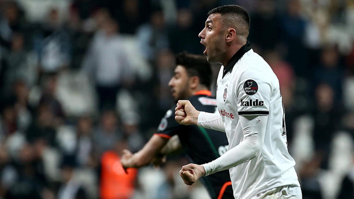 Beşiktaş, Alanyaspor'u 2-1 yendi