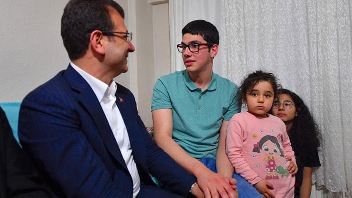 İmamoğlu 'Sen utanma, biz utanalım' dediği Cebrail'in evinde iftar yaptı