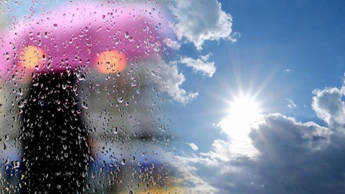 Batı'da yağmur; Doğu'da kavurucu sıcak!