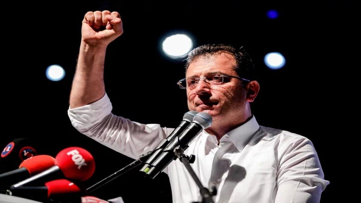 Ekrem İmamoğlu'na 100 bin TL bağış yapan ünlü bulundu