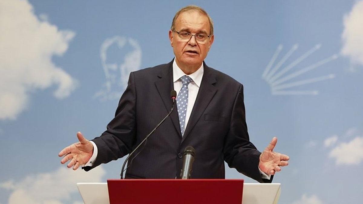 CHP Sözcüsü Faik Öztrak: Bu ülkenin en can yakıcı gündemi ekonomidir