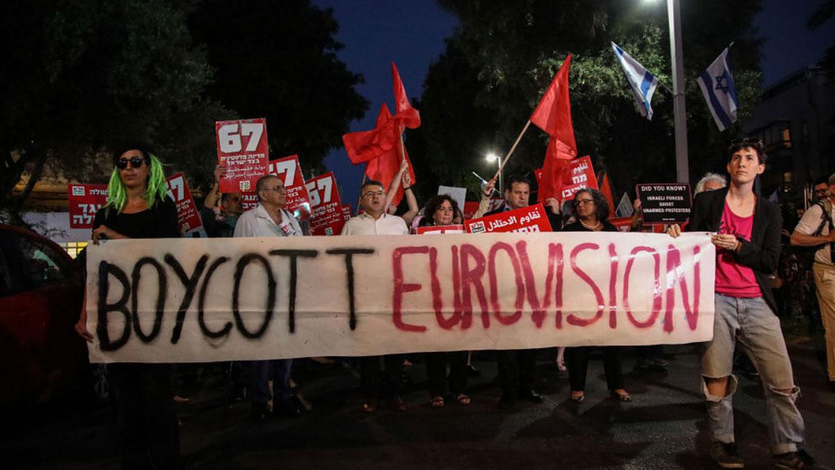 İsrail'de Eurovision yayını hacklendi