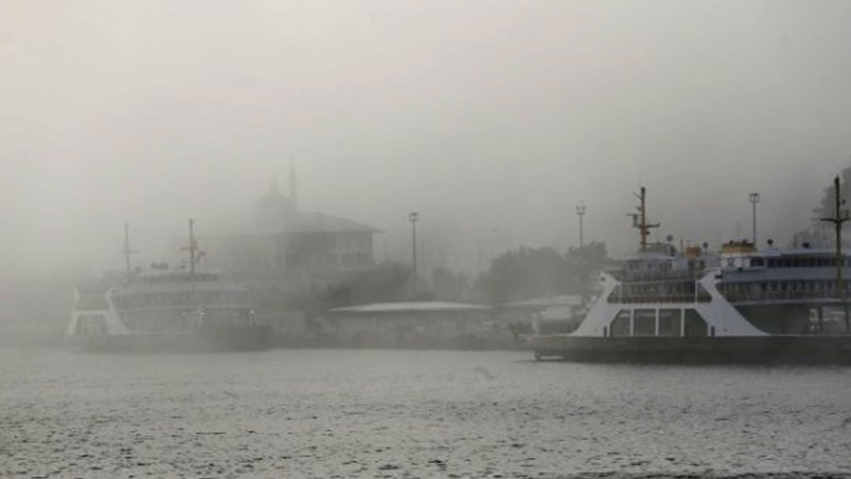 Meteoroloji'den sis uyarısı