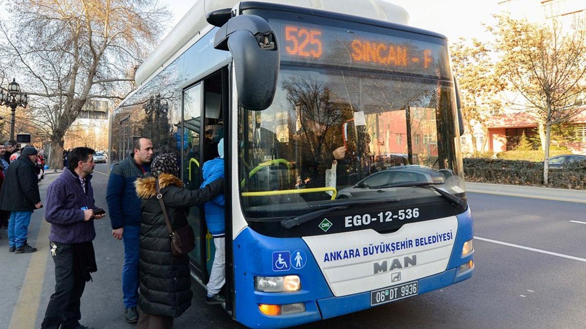 Belediye Meclisi'nden geçti: Ankara'da tüm bayramlarda ulaşım ücretsiz