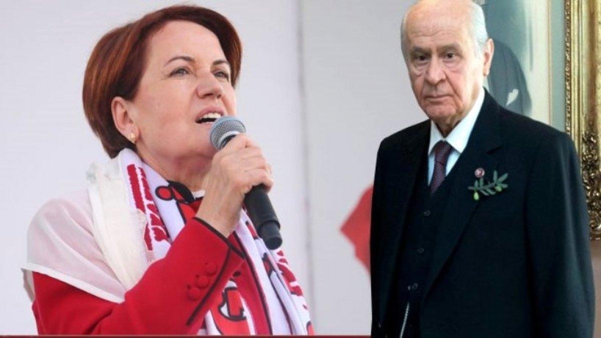 Meral Akşener'den çarpıcı tespit: MHP'den %4 oy İmamoğlu'na gelecek