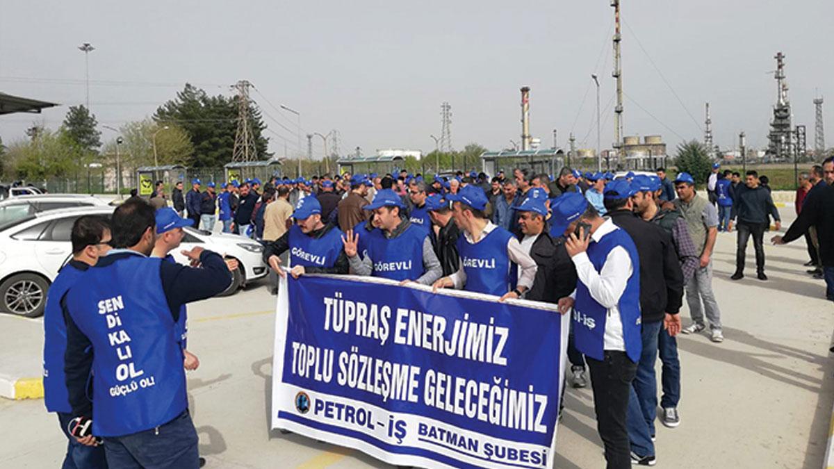 KESK: TÜPRAŞ işçilerinin yanındayız
