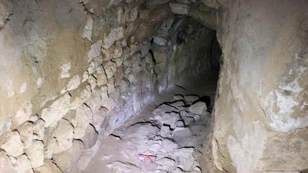 Kapadokya'da tesadüfen bulundu