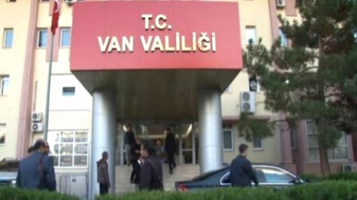 Van'da her türlü gösteri ve yürüyüş yasaklandı