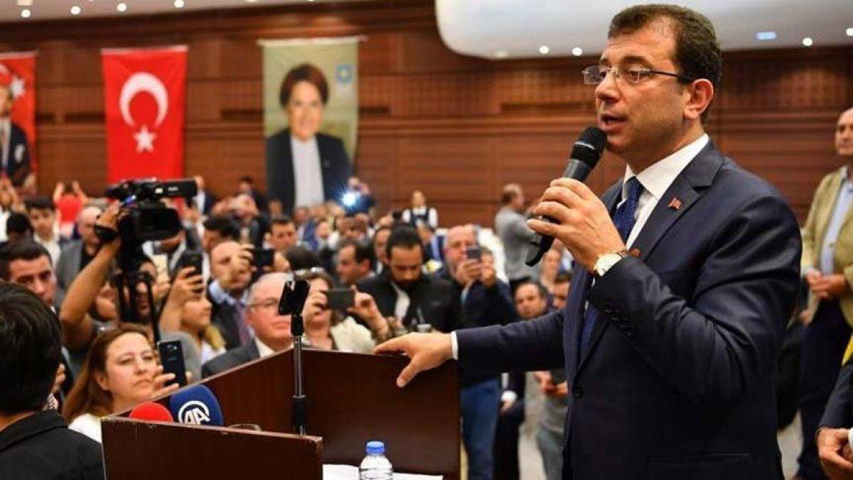 İmamoğlu: 19 Mayıs'ı kutlamak nasip olmadı inşallah Cumhuriyetin 100'ncü yılını kutlayacağız