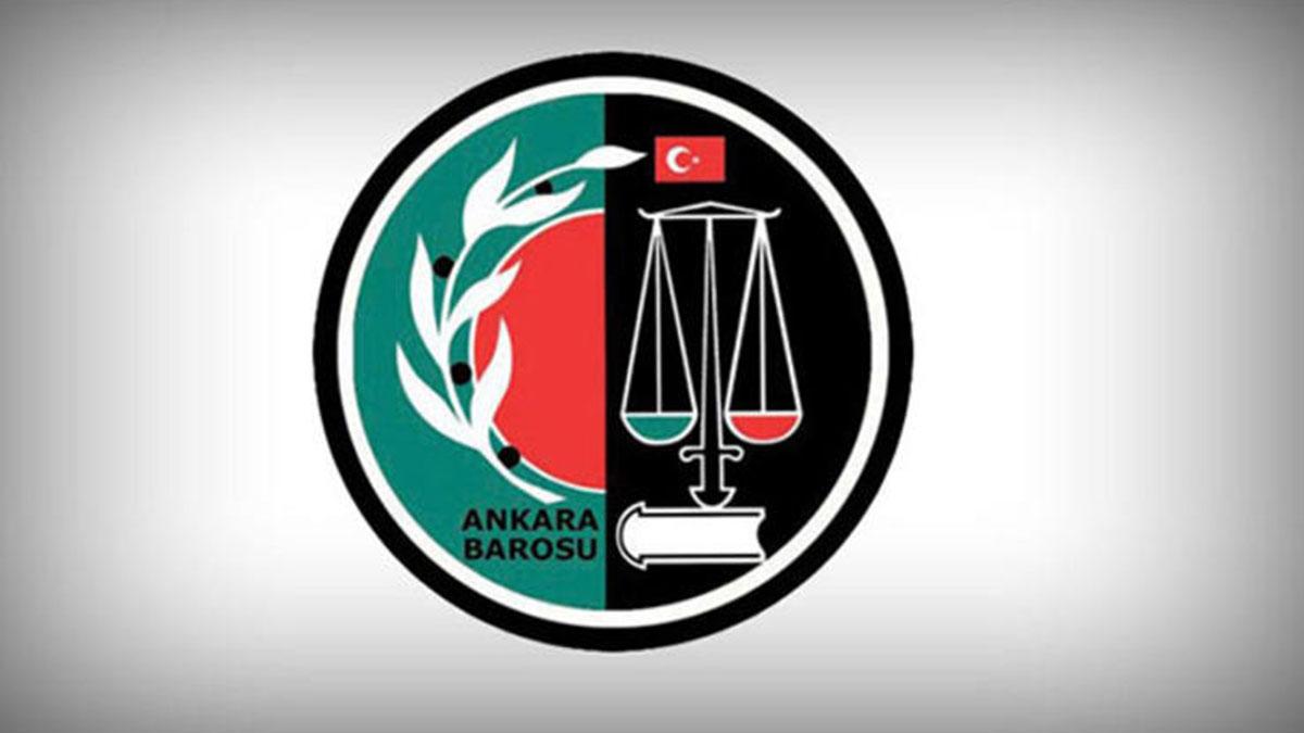 Ankara Barosu'ndan 'Gençliğe Hitabe' pankartı
