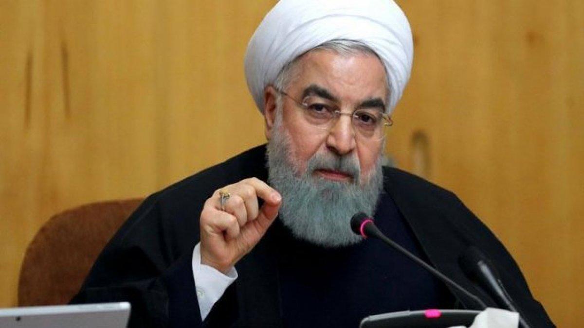 İran - ABD gerilimi sürüyor! Ruhani'den müzakere talebine sert yanıt