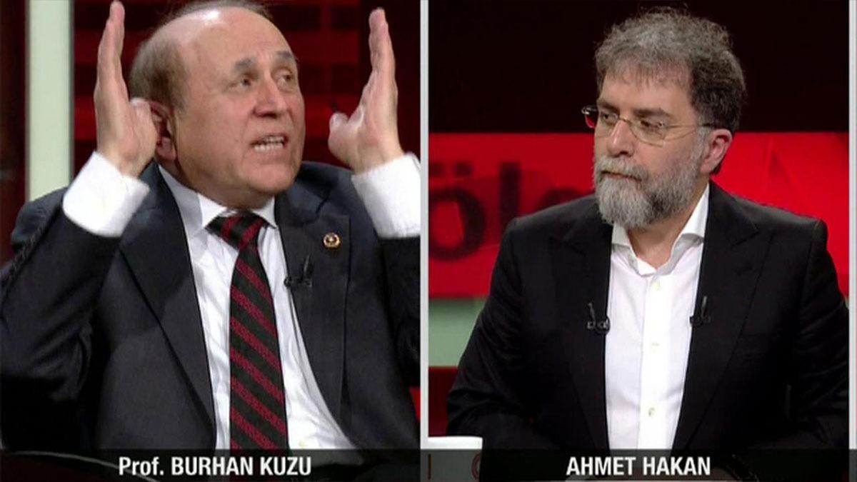 Burhan Kuzu'dan Ahmet Hakan'a amansız övgü
