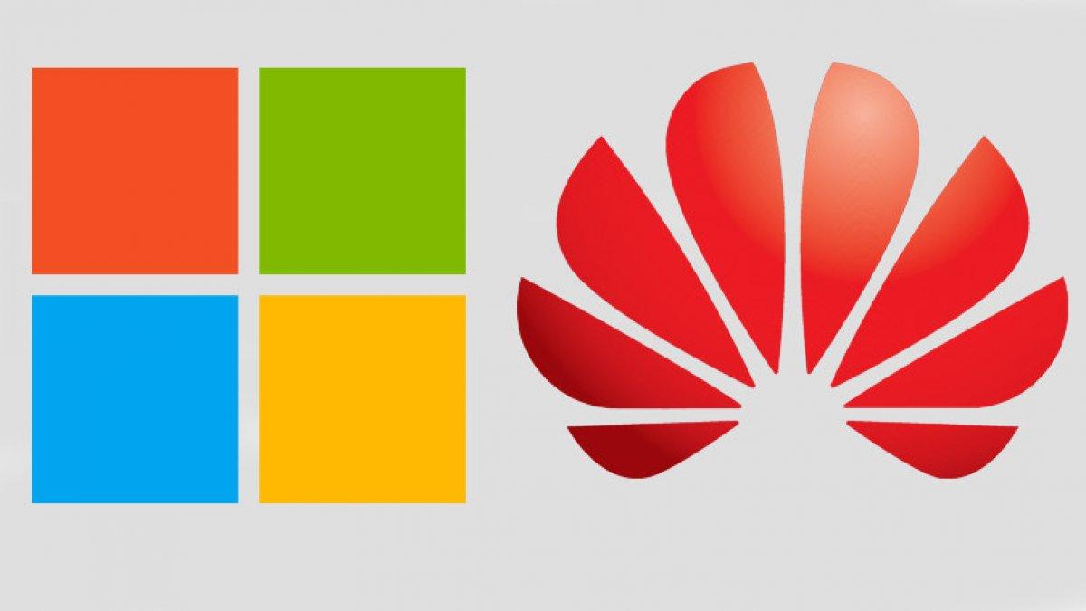 Huawei'ye Google'dan sonra bir darbe de Microsoft'tan