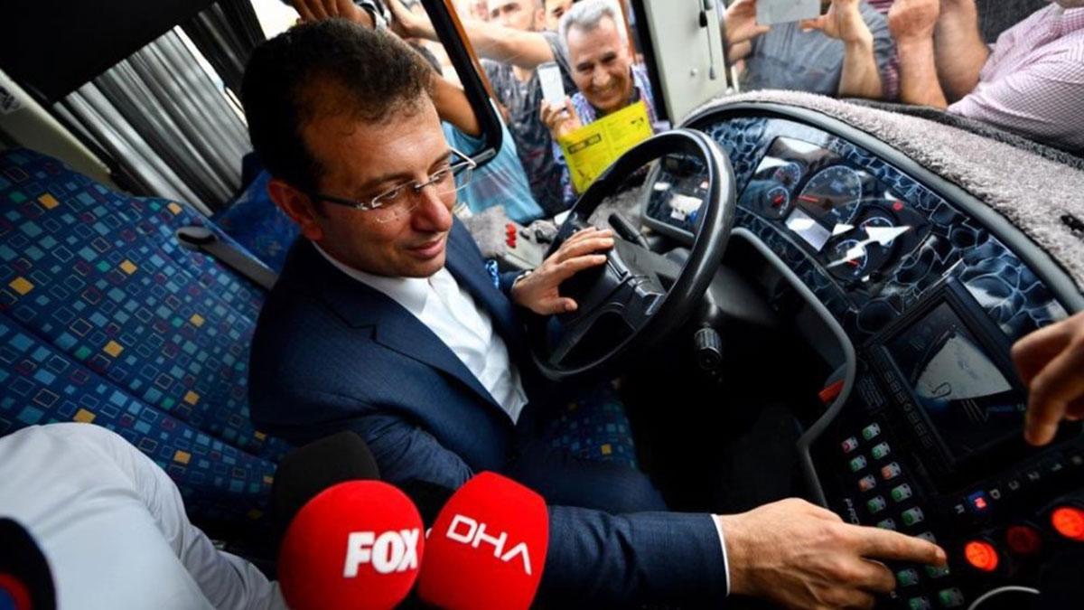 İmamoğlu, bir İstanbul efsanesi '500T'yi kullandı
