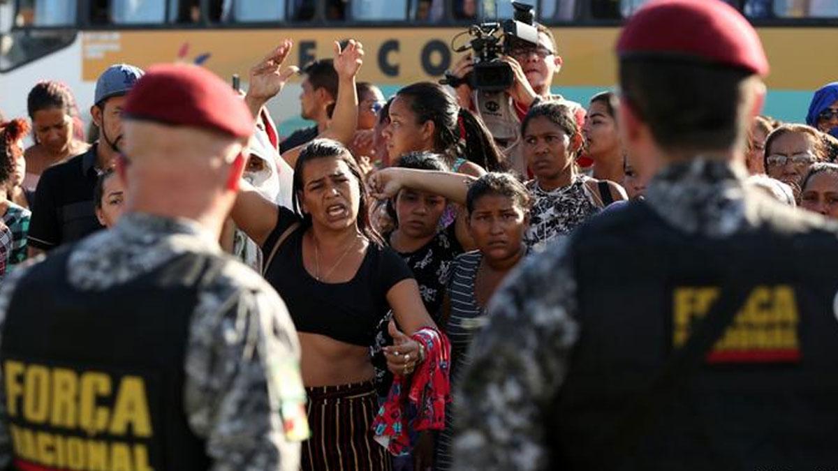Brezilya'da korkunç olay: 2 günde 55 mahkum öldü