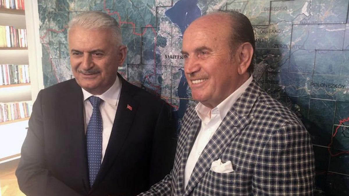 AKP'nin 31 Mart'ta kaybeden adayı, görevden alınan eski başkanı ziyaret etti