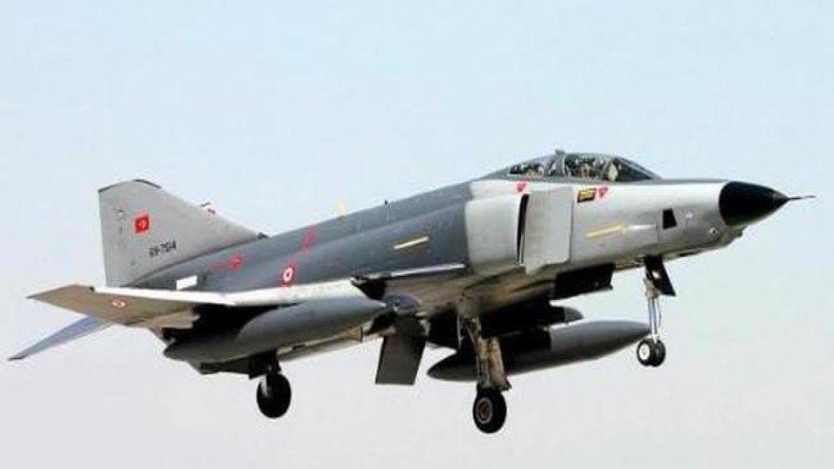 Milli Savunma Bakanlığı duyuru: F-4 uçağımız kaza yaptı