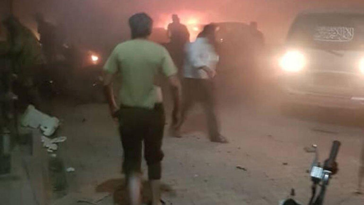 Azez'de bombalı terör saldırısı: 14 ölü