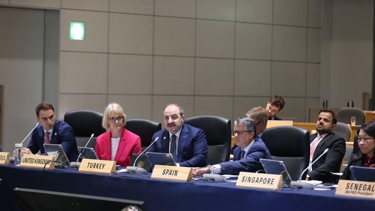 Sanayi ve Teknoloji Bakanı Varank'tan G20'de 'yapay zeka' çıkışı
