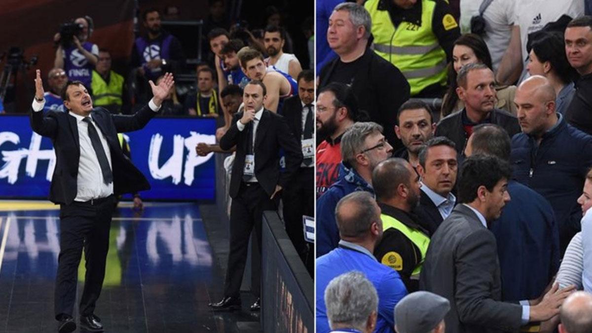 Anadolu Efes-Fenerbahçe Beko maçı sonrası Ergin Ataman'dan Ali Koç'a çok sert sözler