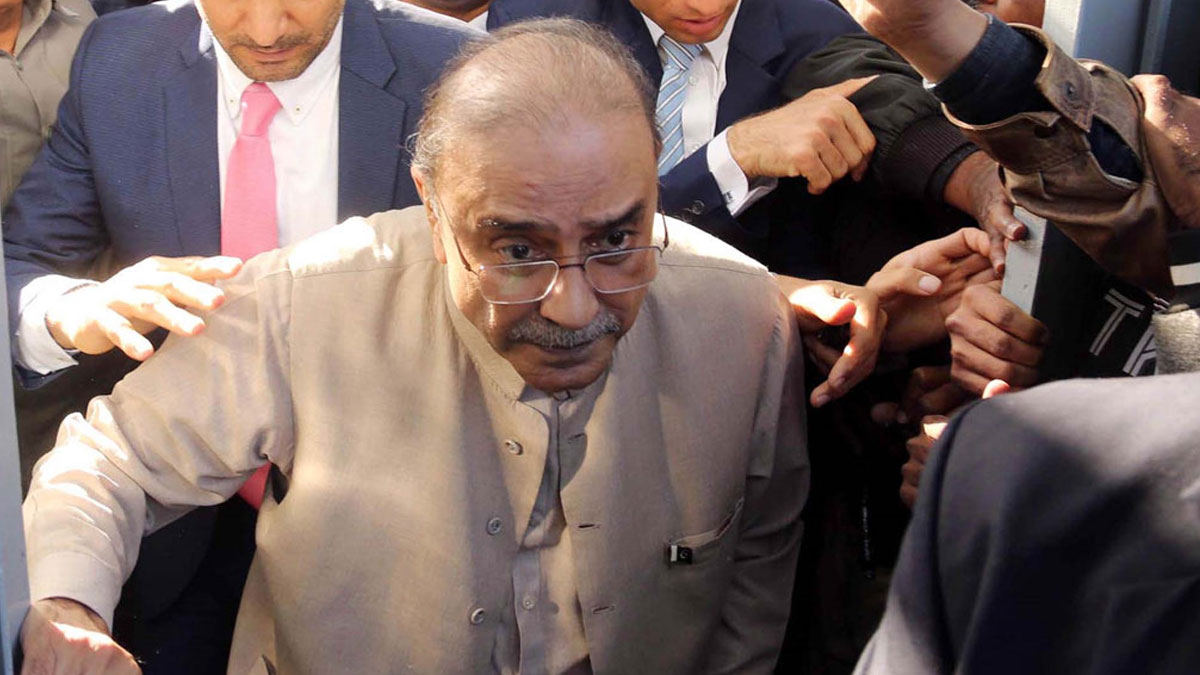 Pakistan'ın eski cumhurbaşkanına yolsuzluk gözaltısı