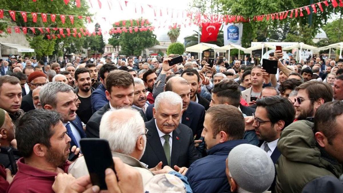 AKP'li Binali Yıldırım'dan, İsmail Küçükkaya yorumu