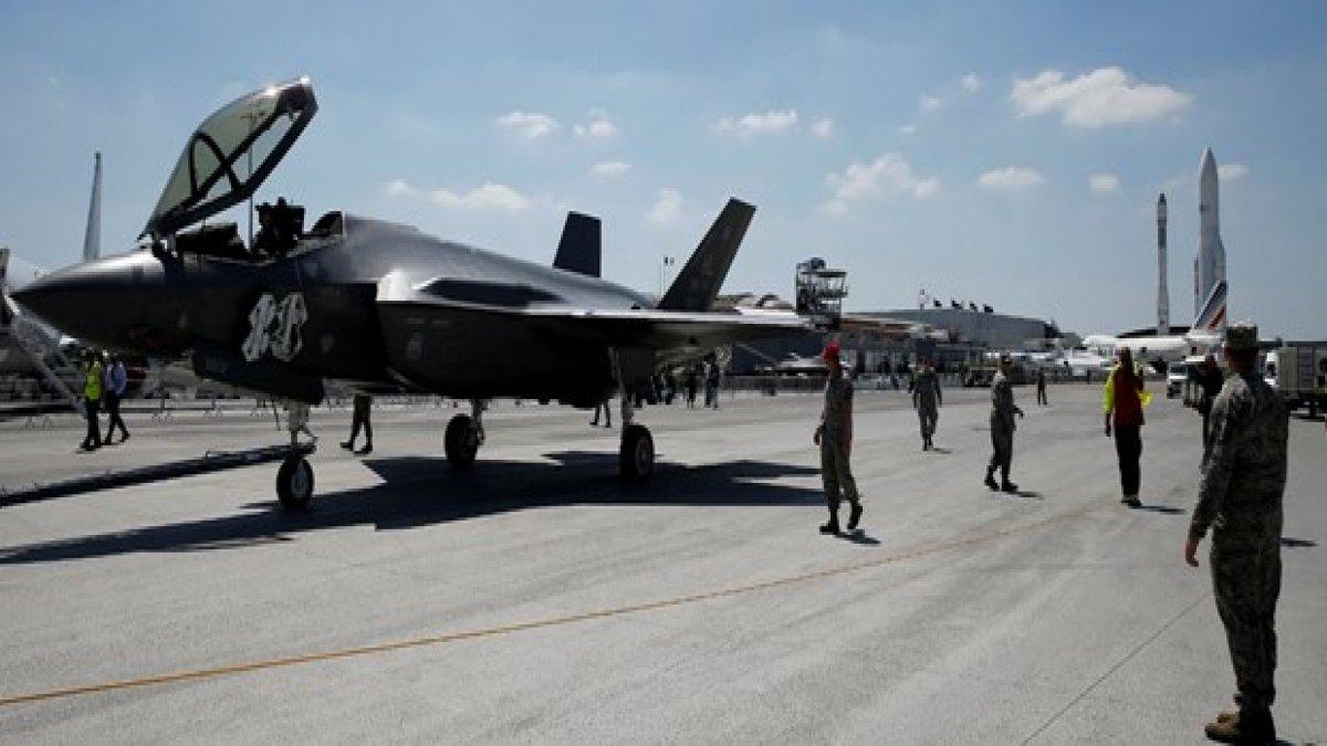 ABD, Türk pilotların F-35 eğitimlerini durdurdu
