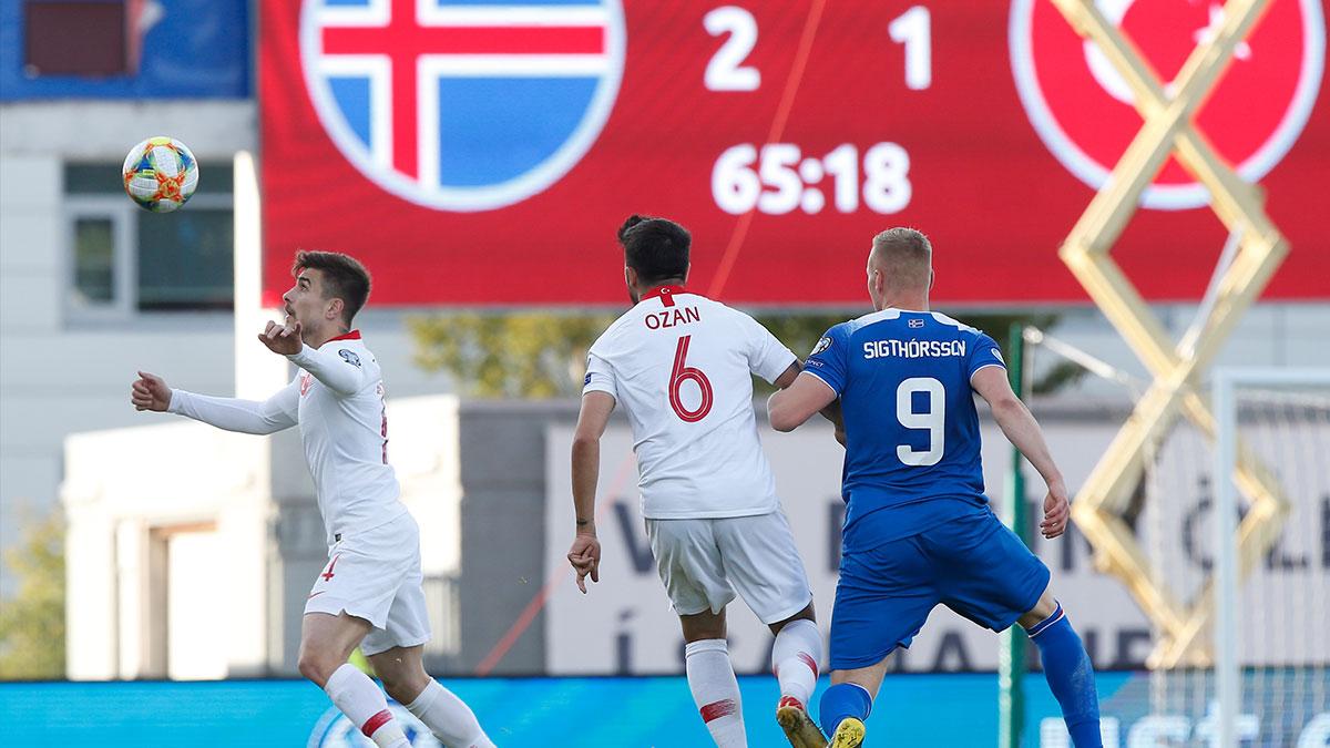 İzlanda'da son düdük çaldı: İzlanda 2-1 Türkiye