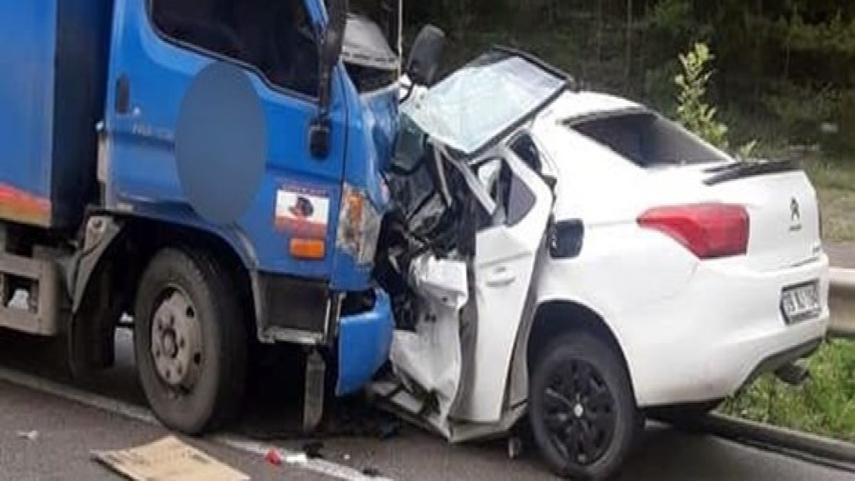 Sinop'ta feci kaza: 2 üniversite öğrencisi hayatını kaybetti