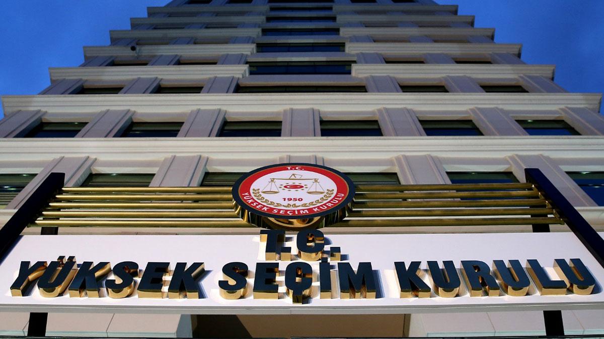 YSK'den AKP'nin başvurusuna ret
