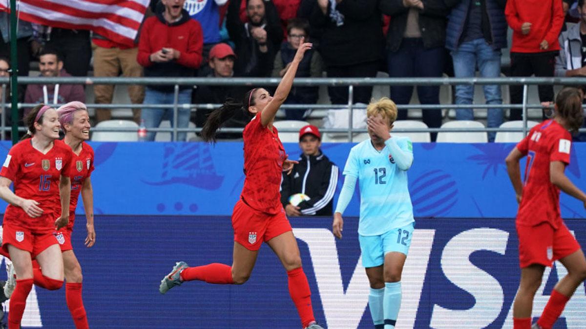 2019 Kadınlar Dünya Kupası: ABD Tayland'ı 13-0 yendi, kupa tarihinde rekor kırdı