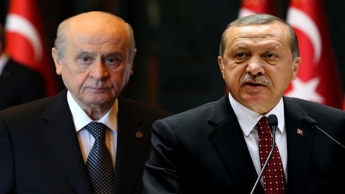 Kritik görüşme sona erdi! Erdoğan, Bahçeli ile görüştü