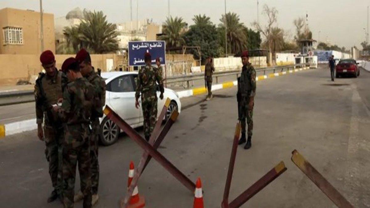 Bağdat'ta askeri kampa füze saldırısı