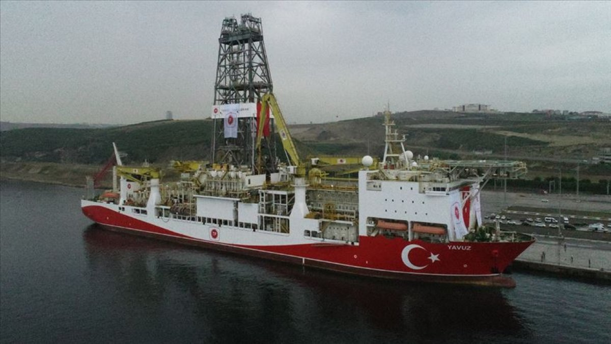 Türkiye'nin ikinci sondaj gemisi yola çıktı!