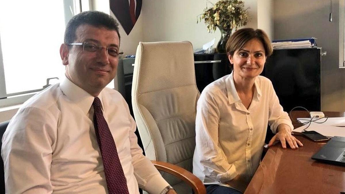 İmamoğlu ve Kaftancıoğlu'nun seçimi takip ettiği SKM'den ilk fotoğraf