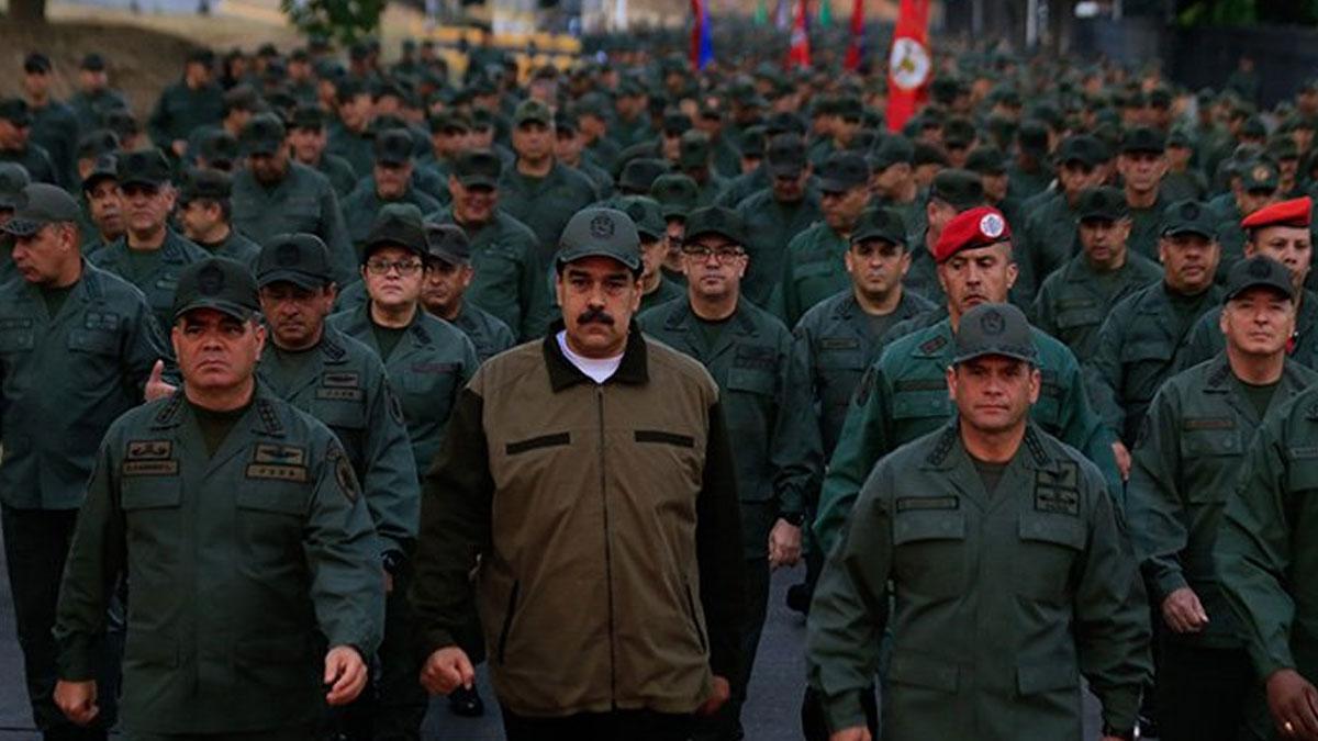 Venezuela'da bir darbe girişimi daha engellendi