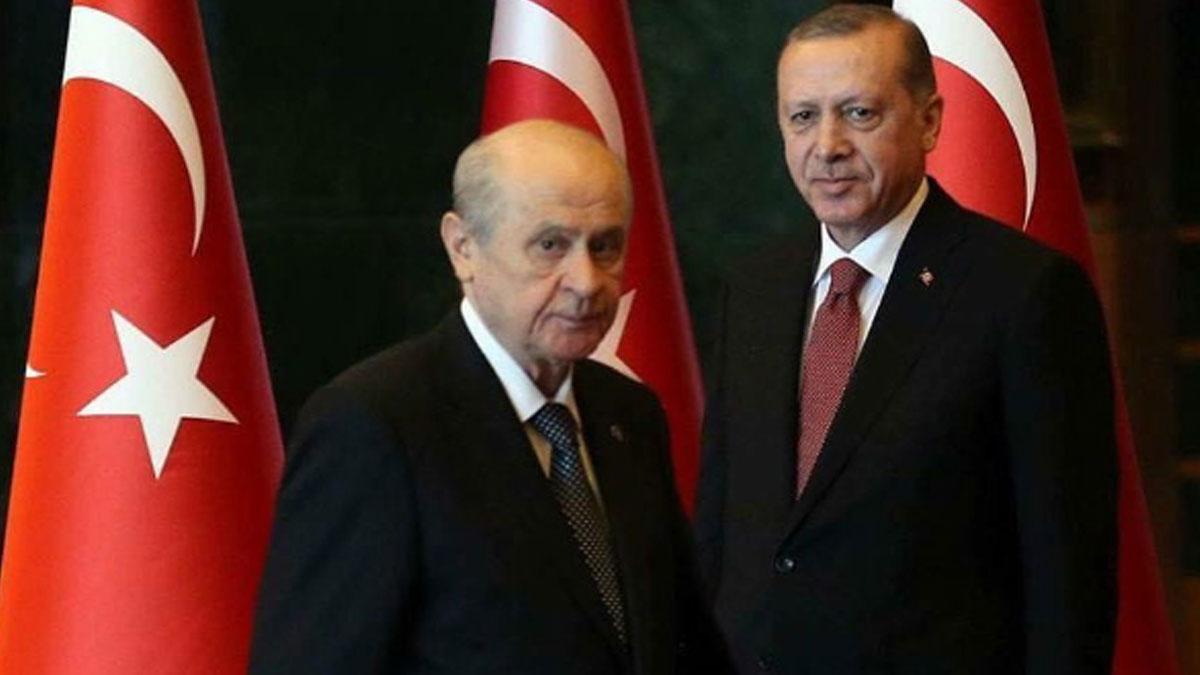 Erdoğan ve Bahçeli 'Cumhurbaşkanlığı Sistemi' ile ilgili görüşecek