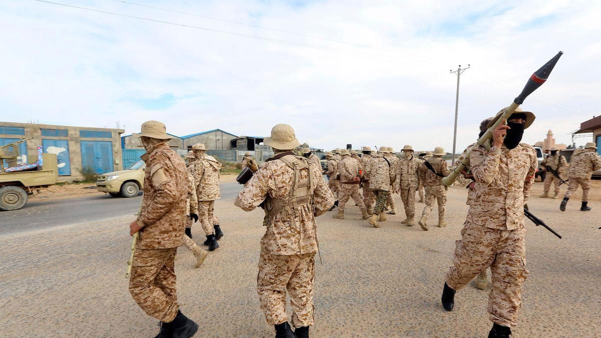 Hafter'den Trablus'a roketli saldırı: 1 ölü, 3 yaralı