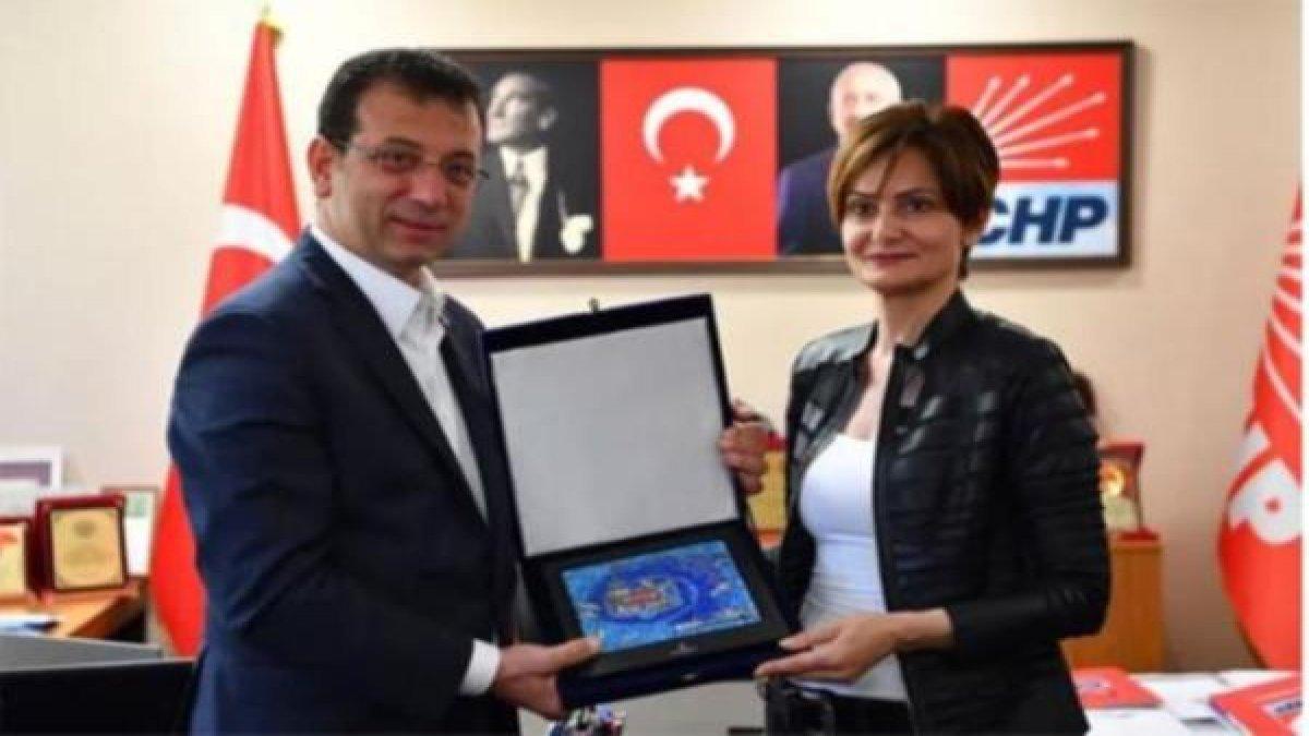 Başkan İmamoğlu'ndan Kaftancıoğlu'na teşekkür ziyareti!
