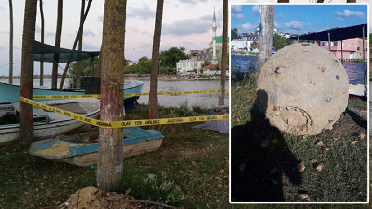 Balıkçıların ağına takıldı! Sakarya'da deniz mayını bulundu