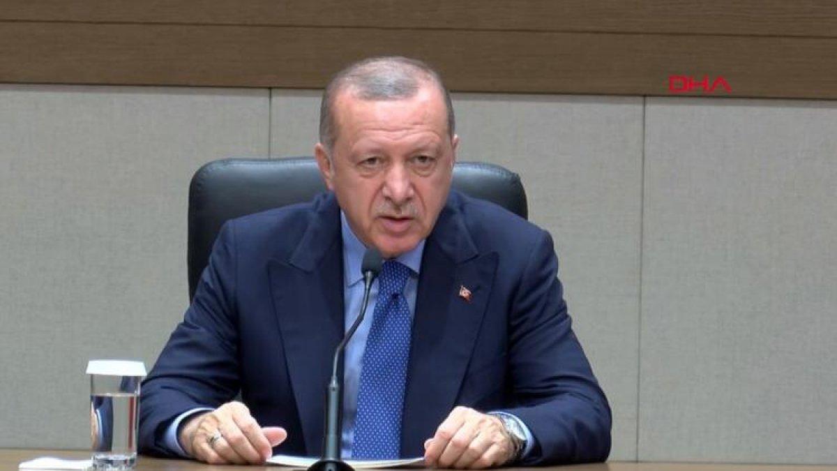 Erdoğan'dan S-400 açıklaması: Yolculuk hazırlığı devam ediyor