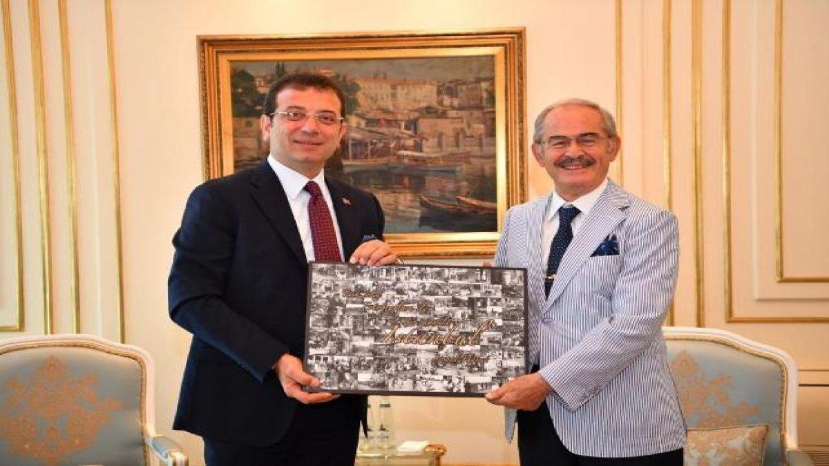 Büyükerşen'den İmamoğlu'na tebrik ziyareti!
