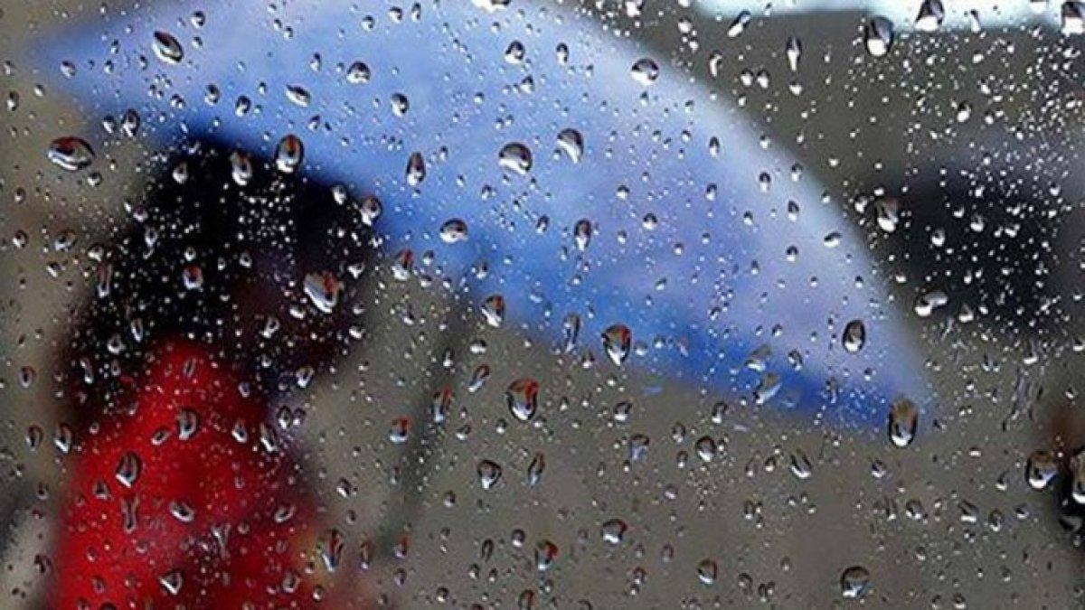 Sıcaklık 8 derece birden düşecek! Kuvvetli yağışa dikkat