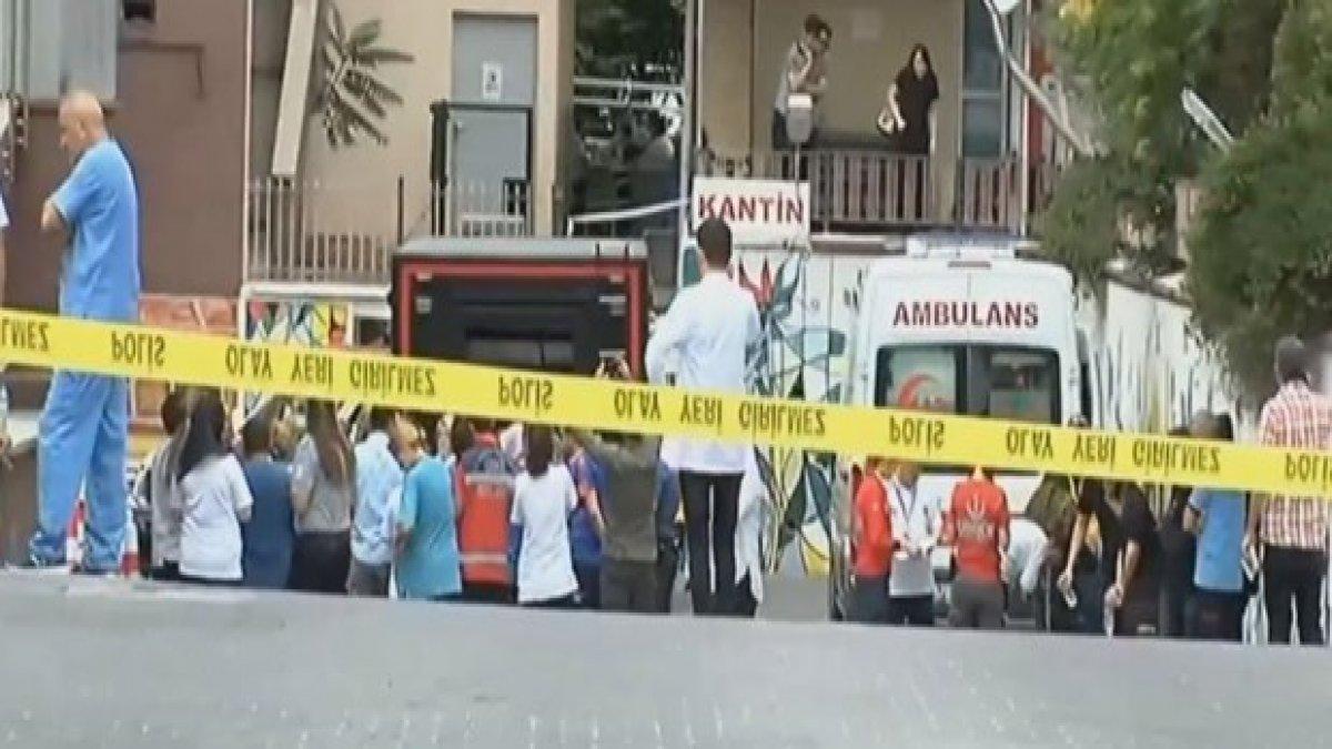 Ankara'da kırmızı alarm! Hastanede kimyasal madde paniği
