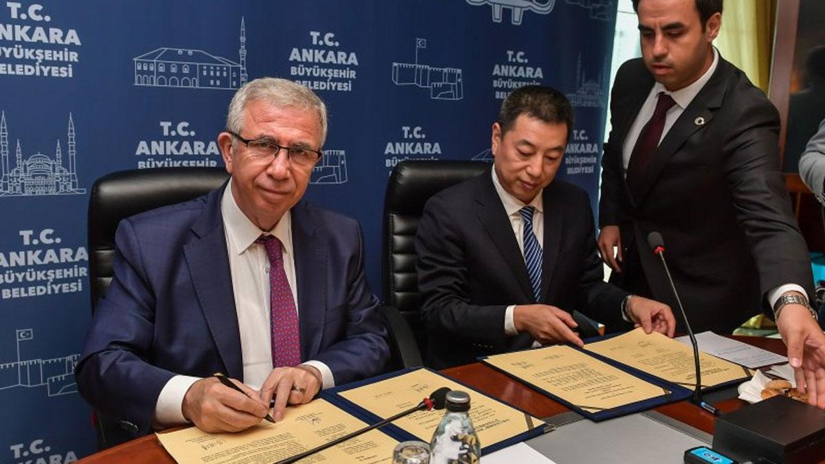 Ankara ve Guanco arasında önemli imza