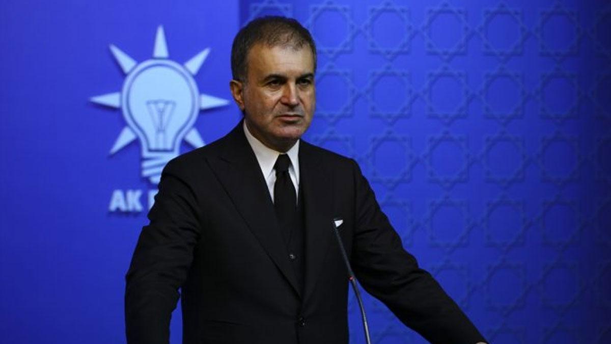 AKP Sözcüsü Ömer Çelik:Rum tarafını hukuksuz bir şekilde AB'ye aldılar